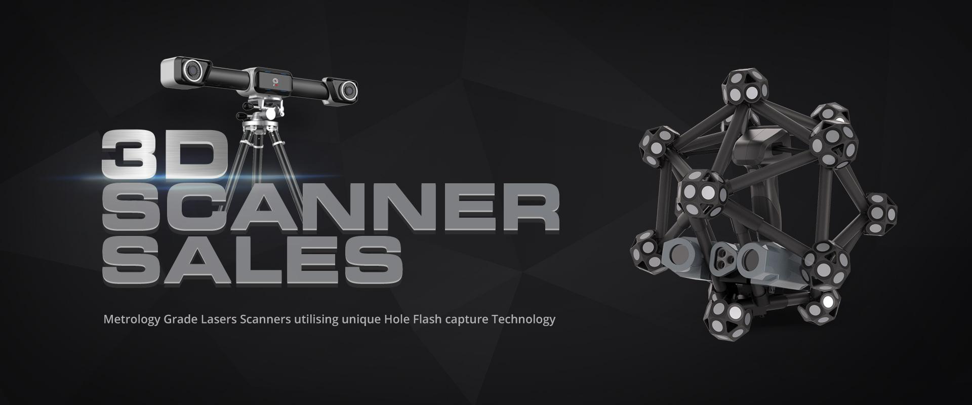 3D Scanner System Sales